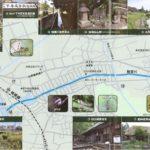 駒寄川周辺図です。