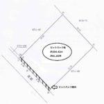 区画図 土地面積:212.27㎡(64.21坪)セットバック後 約204.42㎡(約61.83坪)