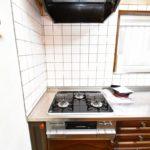 ガスコンロと換気扇です。(キッチン)