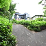 96坪の緑ある空間 1580万円 広いお庭でお家キャンプを楽しもう