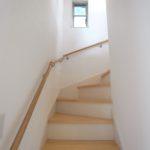明るい階段です。