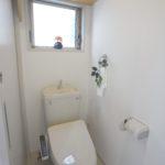 2階のウォシュレットトイレ。(内装)