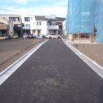 12/15撮影 造成道路
