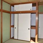 2階和室の収納(内装)