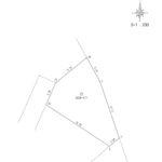 区画図 157.28㎡ 47.57坪